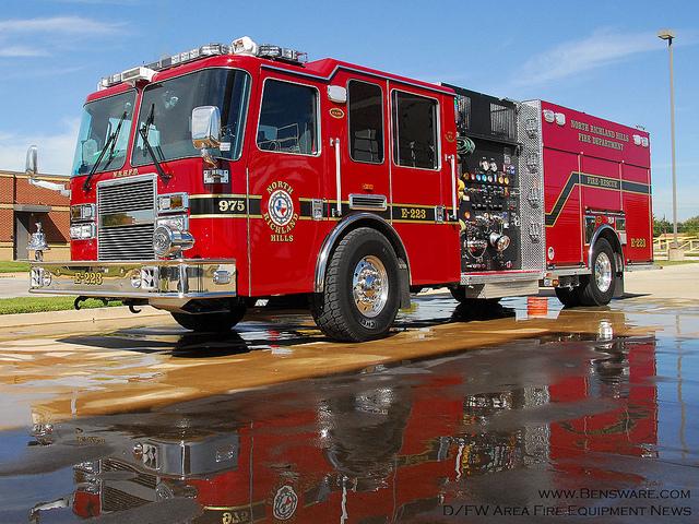 NRH Fire Truck - Ben Saladino