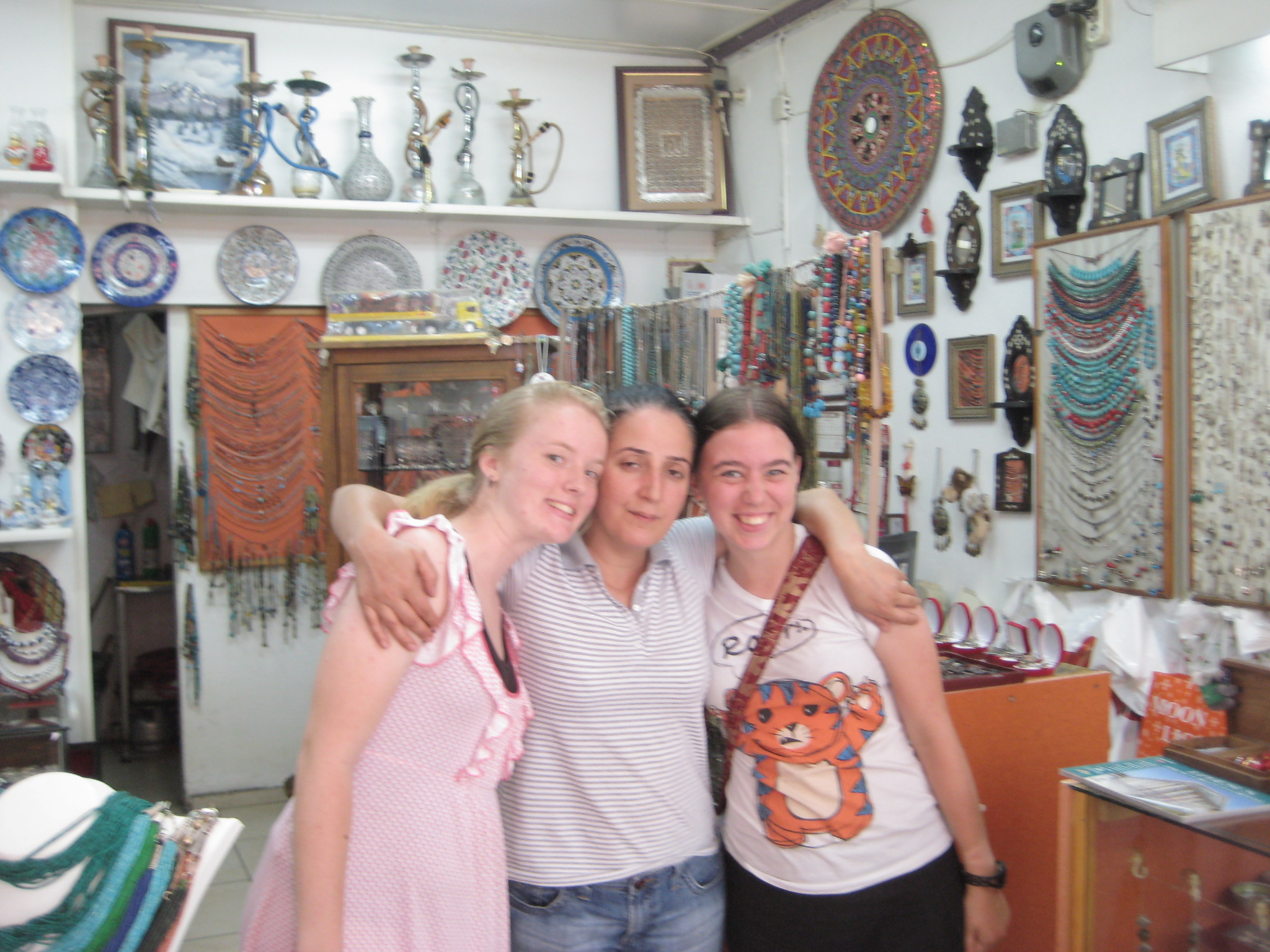 Shop owner in Selçuk